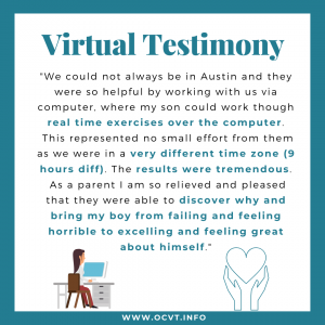 OCVT Celebrates Over 10 Years Of Virtual Vision Therapy Appointments